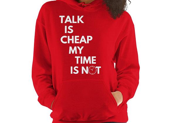 Talk Is Cheap Hoodie