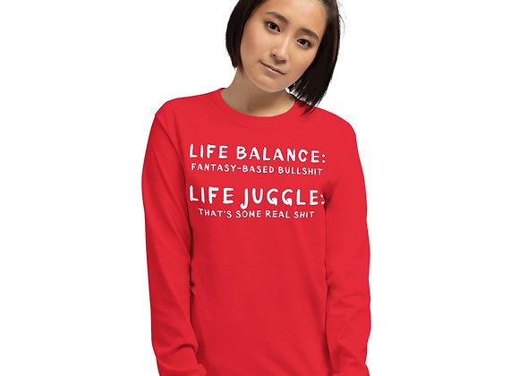 Balance v. Juggle LS Tee