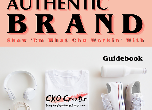 Develop Your Authentic Brand Guidebook (epub)