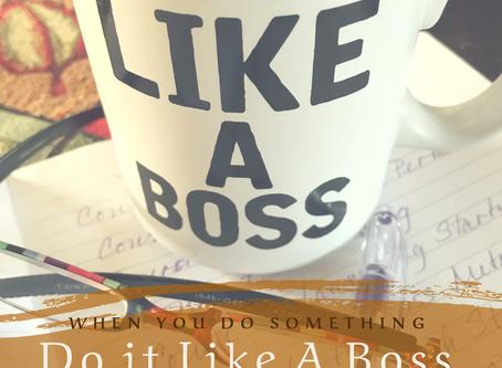 Boss Moves As An Entrepreneur