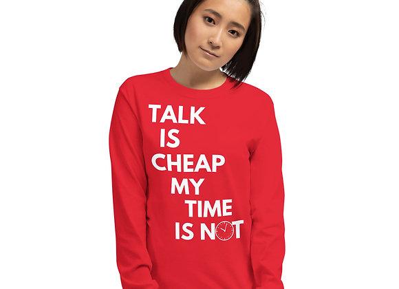 Talk Is Cheap LS Tee