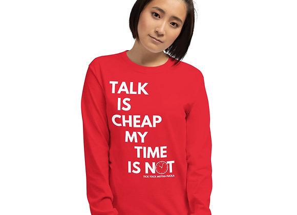 Talk is Cheap MF LS Tee