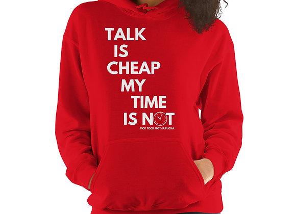 Talk Is Cheap MF Hoodie