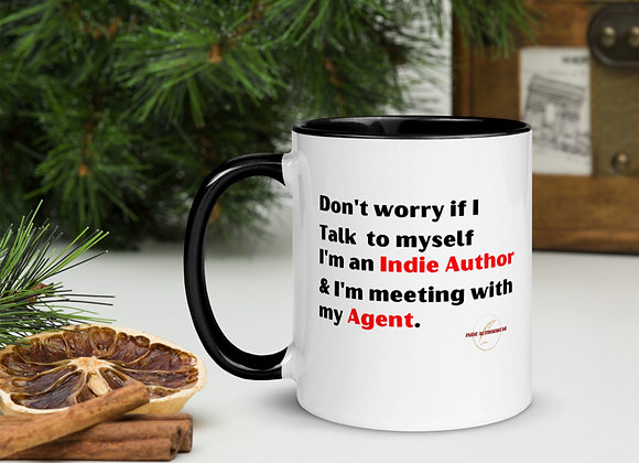 Meeting With My Agent Mug