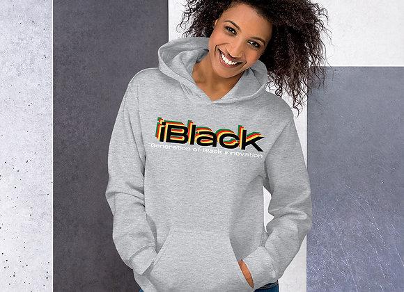 iBlack Unisex Hoodie