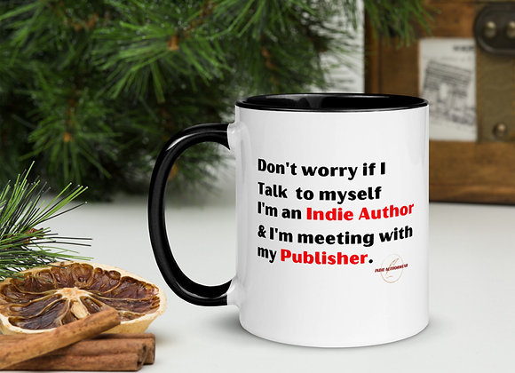 Meeting With My Publisher Mug