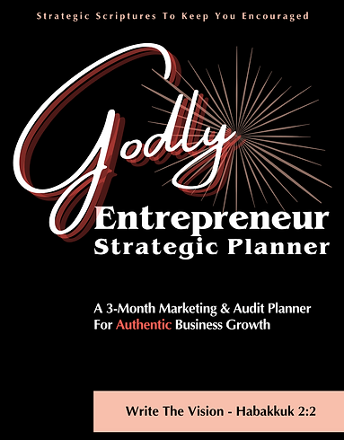 Godly Entrepreneur Marketing & Audit Planner