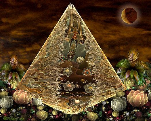 Fractal Alien Pyramid