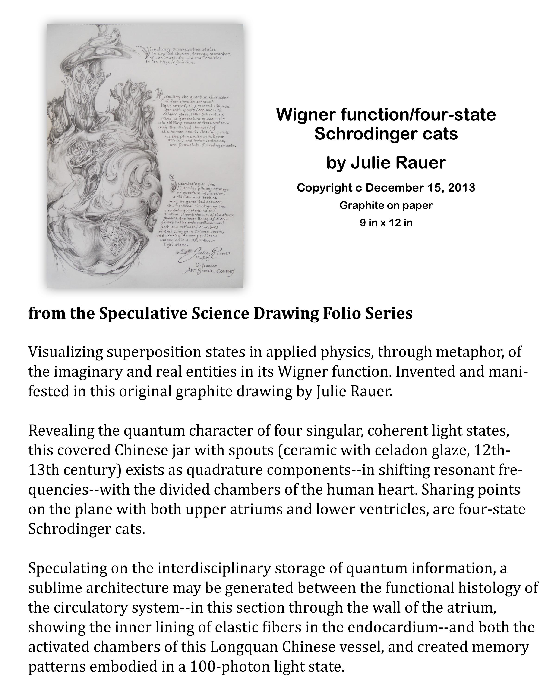 Wigner Function-four-state Schrodinger Cats Description