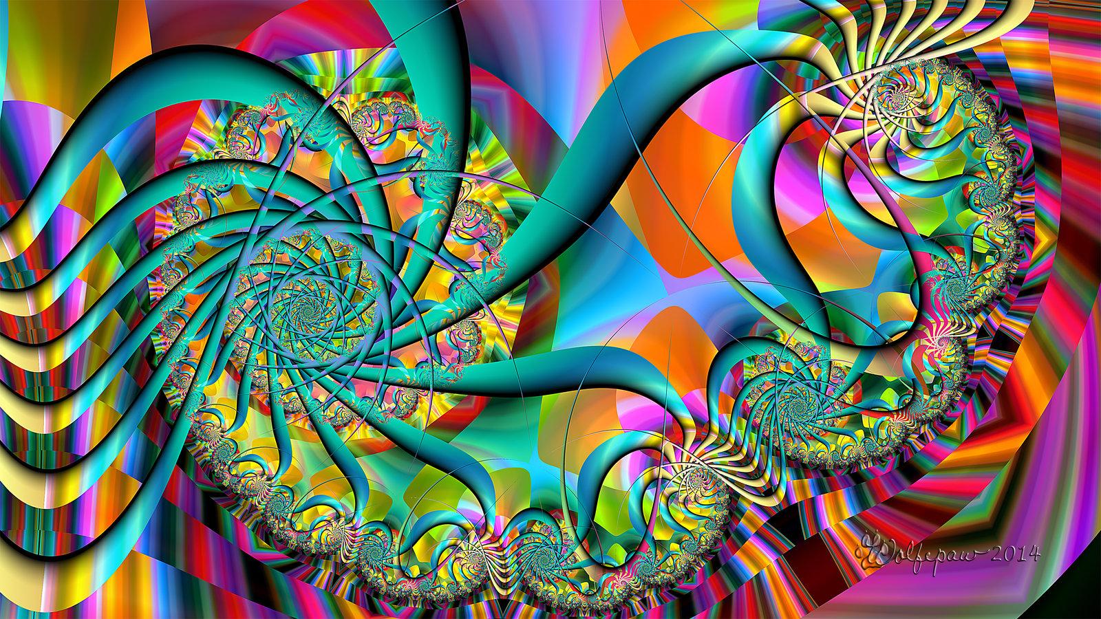 Spiraling Outward