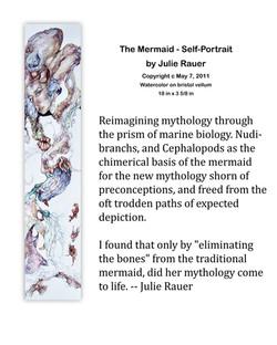 The Mermaid - Self-Portrait Description