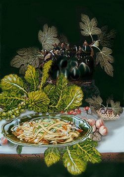 "Leonardo's ""Candlelight Supper"""