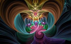 Fractal Focused Swirls