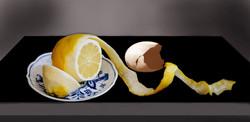 Lemon and Eggshell
