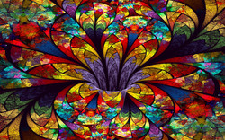Stained Glass Bloom