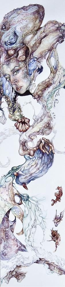 The Mermaid - Self Portrait