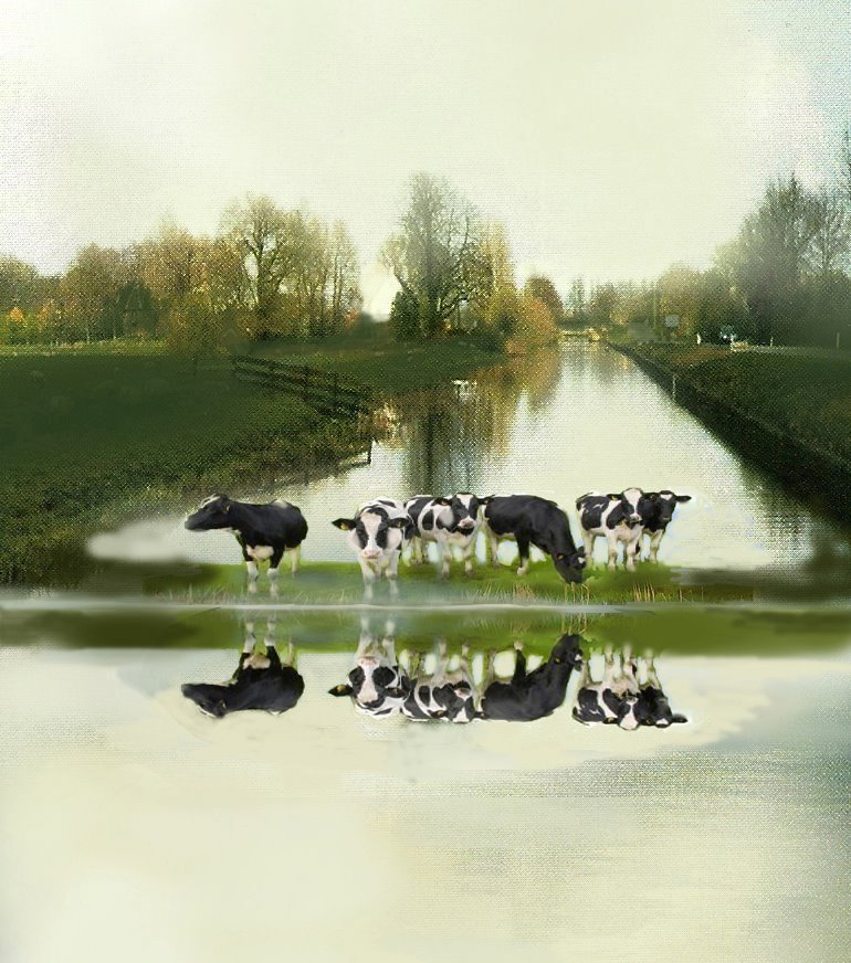 Cows at the Water