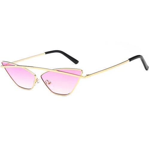 Pink Cat Eyes Sunglasses