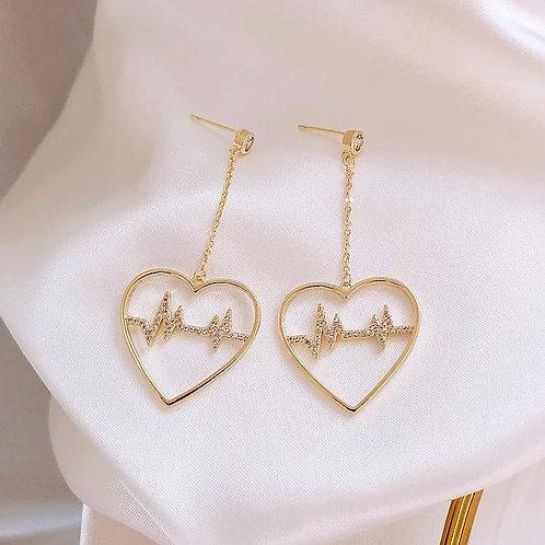 HeartBeat Earring