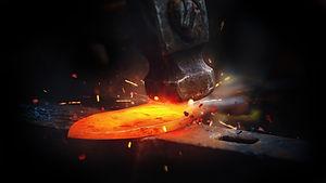 Knife making Forging blacksmith Bladesmi