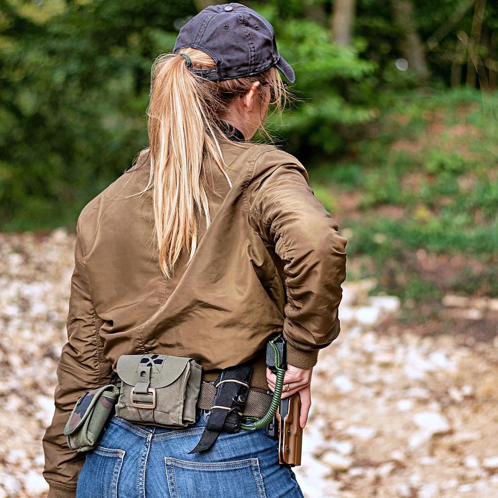 ceinture tactique BELTAPTOR police gendarmerie glock holster
