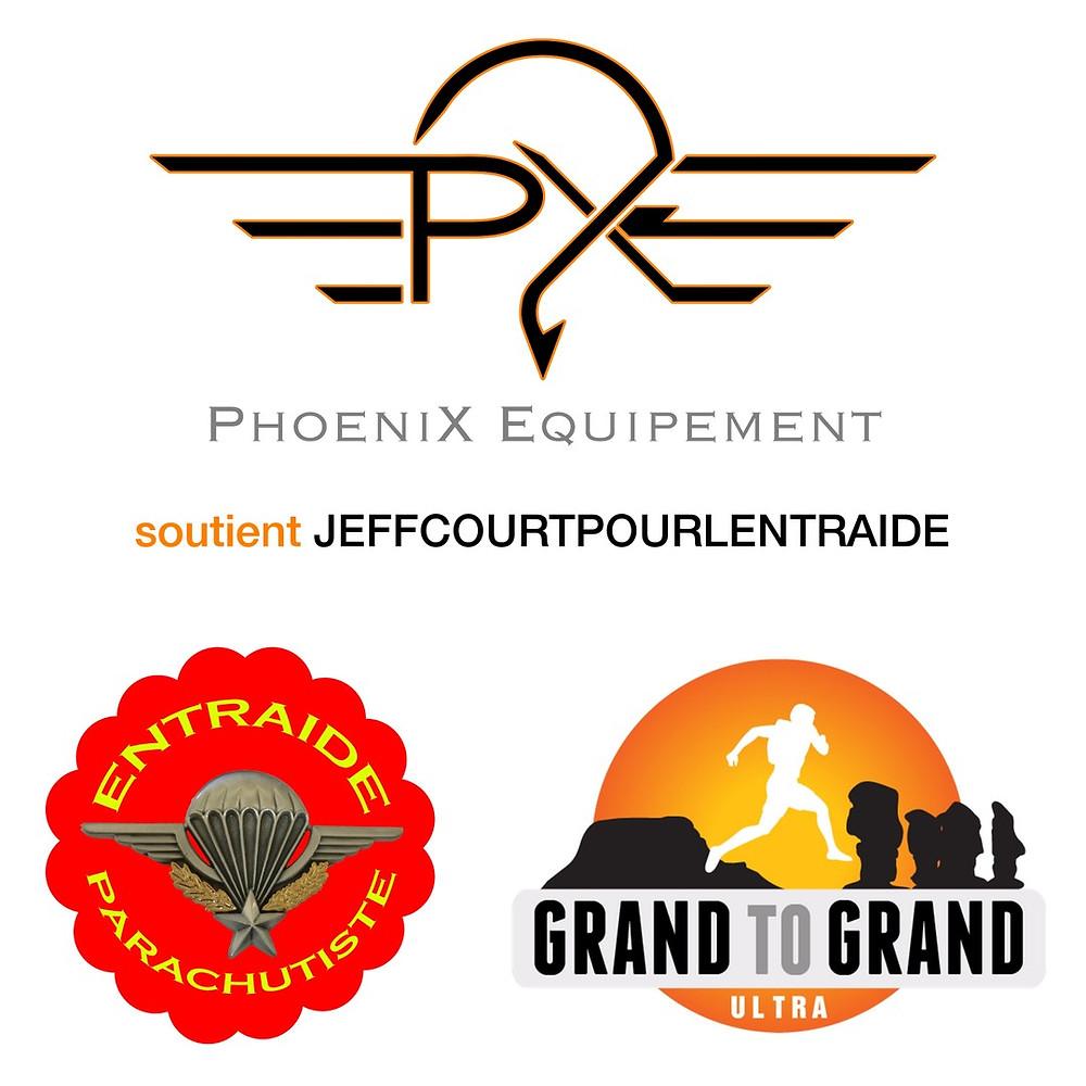Phoenix Equipement soutient Jeff court pour l'entraide Jeffcourtpourlentraide