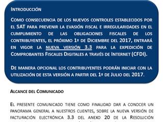 Factura Electrónica 3.3.