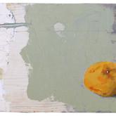 Grapefruits oil, mixed media on panel 2008