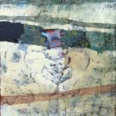 Abstract Pelvis acrylic, oil on canvas 2007