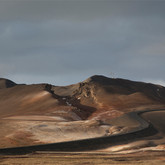 """námafjall, from the series 'i am a rock. i am an island.'  2012, 20""""x24""""  Archival Pigment Print"""