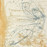 """Traces 6 7/8"""" x 5 7/8""""  Etching"""