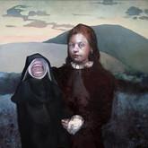 "Insolently Shrieking oil on canvas.   60"" x 48"" 2008"