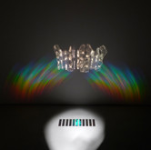 The poetry of earth is ceasing never (for Keats), hologram paper, dimensions variable, 2013