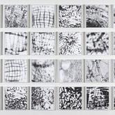 "Footprints  4' 6"" x 16' 2"" Ink 2009-2011 Installation"