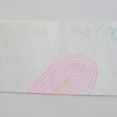 "Slouching toward... (for PG), gouache on paper, 3"" x 6"", 2012"