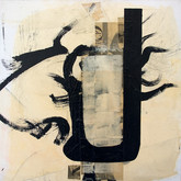 "John Chang ""Font"" 2 Size: 12"" x 12"" Mixed Media 2009"