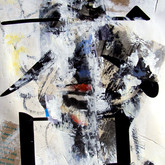 "John Chang ""No"" Size: 20"" x 30"" Mixed Media 2009"