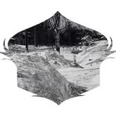 "Snow Shield Walk, graphite on paper, 11x14"", 2012"