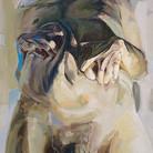 Protuberance 2007 oil on canvas 84 x 60