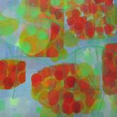 "Tusara Oil, 36x36"", 2010"