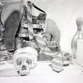 """Beginning Drawing, Project: Final Drawing Graphite 18"""" x 24"""""""