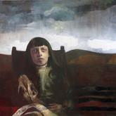 "Lamentation Oil on canvas.  60"" x 48"""