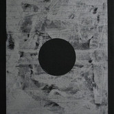 "Untitled (Circle) silicone and acrylic paint on canvas 48"" x 32"", 2010"