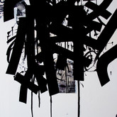 "John Chang ""Untitled-1"" Size: 36"" x 48"" Mixed Media 2010"