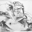Study for Aureole 2013 charcoal on paper