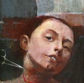Open Window Oil on panel