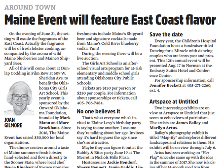 Maine Event Will Feature East Coast flavor