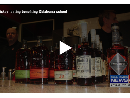 Whiskey tasting event raising funds for Classen School of Advanced Studies
