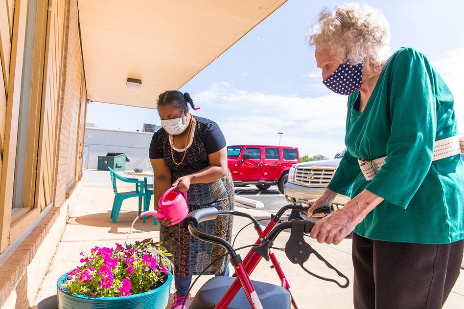 Participants watering flowers-2.jpg