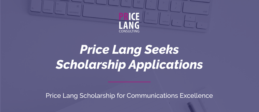 Price Lang seeks scholarship applications